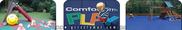 PRODUCTOS PISOS AREAS INFANTILES (Comfort PLAY) | GRIZZLY MAT |